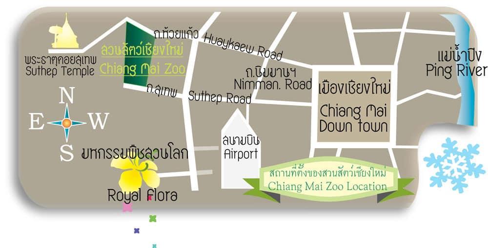 chiangmaizoo-map