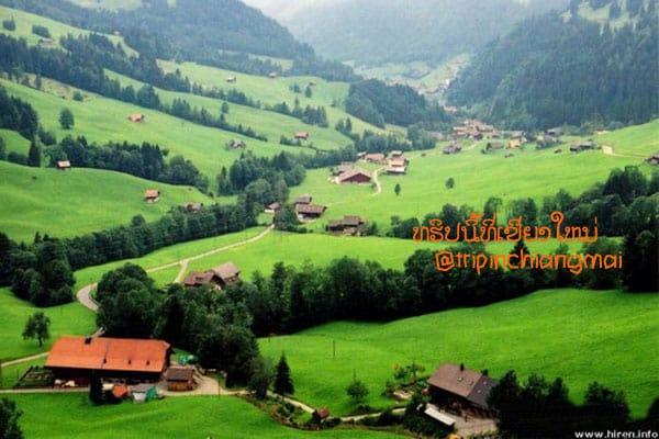อำเภอนันทบุรี สวิตเซอร์แลนด์แดนเหนือแห่งเชียงใหม่