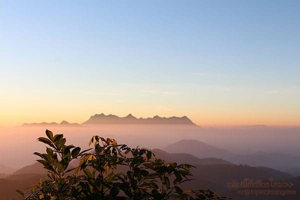ยามเช้า ดอยค้ำฟ้า(หน่วยจัดการต้นน้ำแม่งาย)
