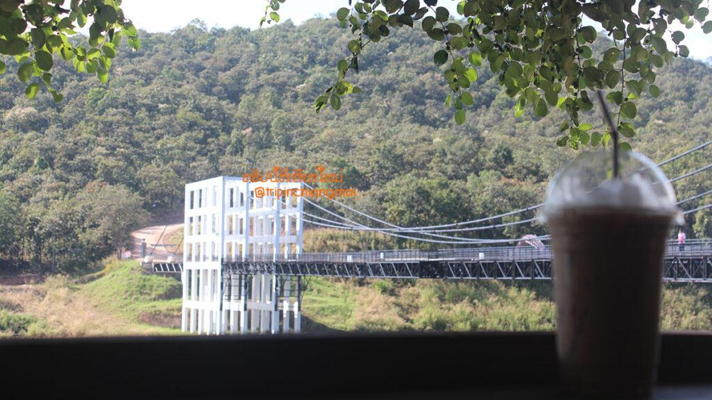 สะพานแขวนเชื่อมใจ @เขื่อนแม่กวง